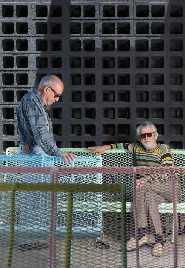 Oscar Tusquets y Lluís Clotet – banco Catalano mobiliario urbano
