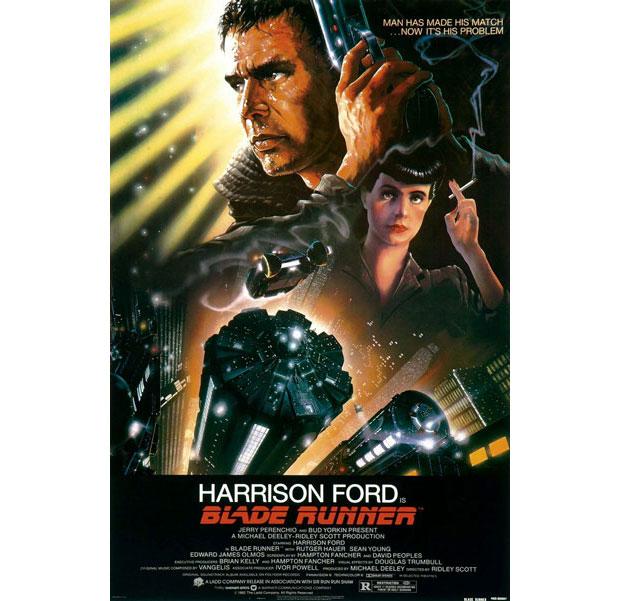 A. Goldschmidt diseñador del cartel de Blade Runner