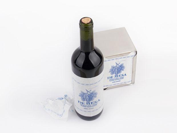 Vino de Mesa – diseño packaging de Grantipo