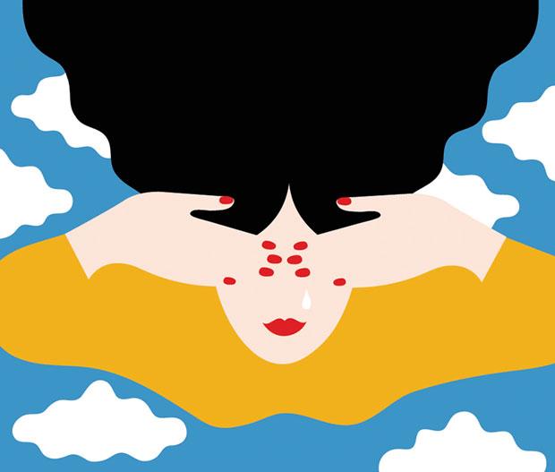 Olimpia Zagnoli y su universo colorista y pop