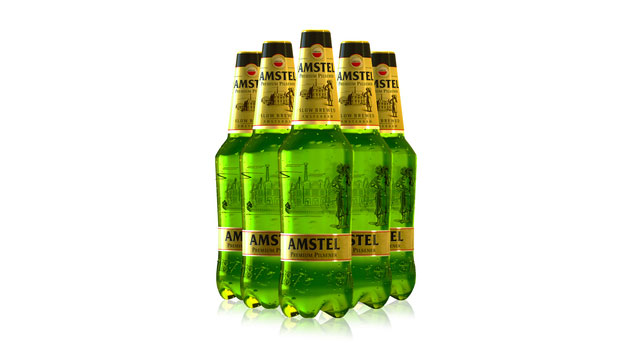 Amstel Premium Pilsener – botella 1 litro – packaging diseño de PET  Engineering