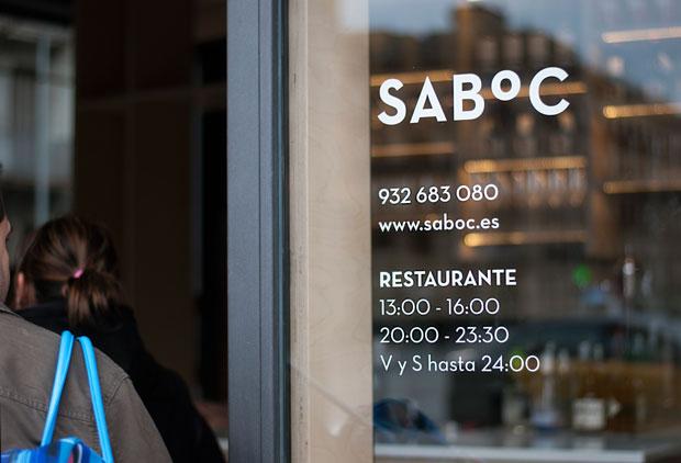 carta restaurante Saboc – identidad corporativa de Juan Esbert – ilustraciones de Oriol Alegret
