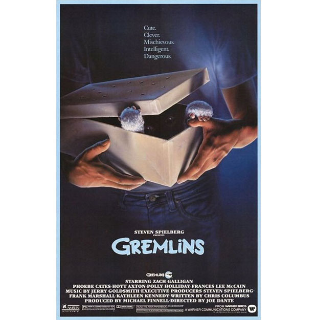 A. Goldschmidt diseñador del cartel de Gremlins