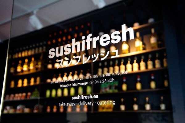04- Sushifresh – identidad visual diseño de Huaman, estudio de comunicación visual y programación catalán