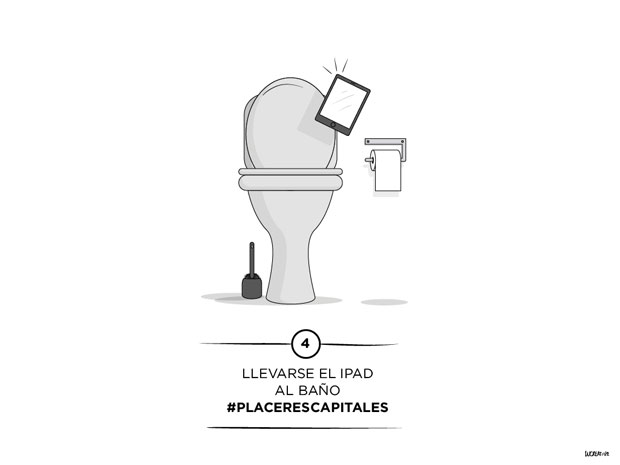 ilustración – iPad wc