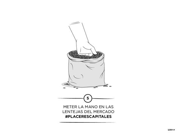 Los 7 #placerescapitales ilustrados