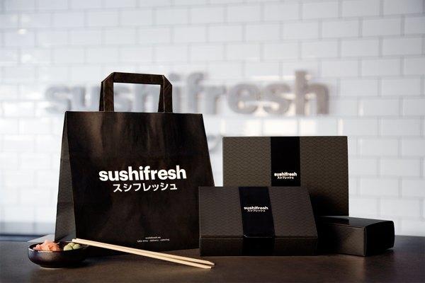 06- Sushi fresh identidad visual diseño de Huaman, estudio de comunicación visual y programación catalán