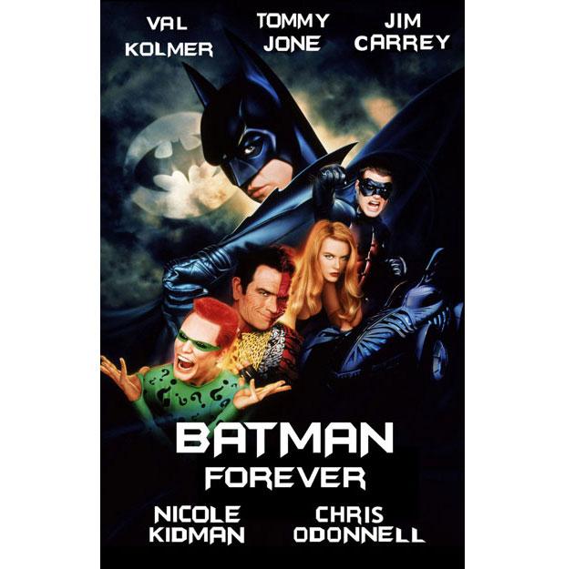 A. Goldschmidt diseñador del cartel de Batman Forever
