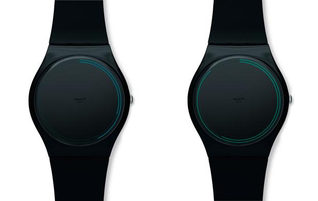 JVG-Studio – Swatch Ring Watch Black