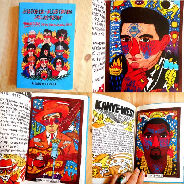 Ilustración para el libro ilustrado de Ricardo Cavolo