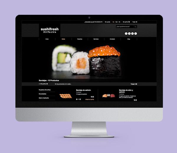 12-branding de marca de comida japonesa a domicilio para gourmets
