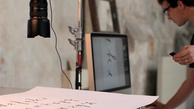 Proceso de digitalización de la tipografía