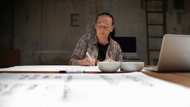 Una de los autores de Homeless Fonts