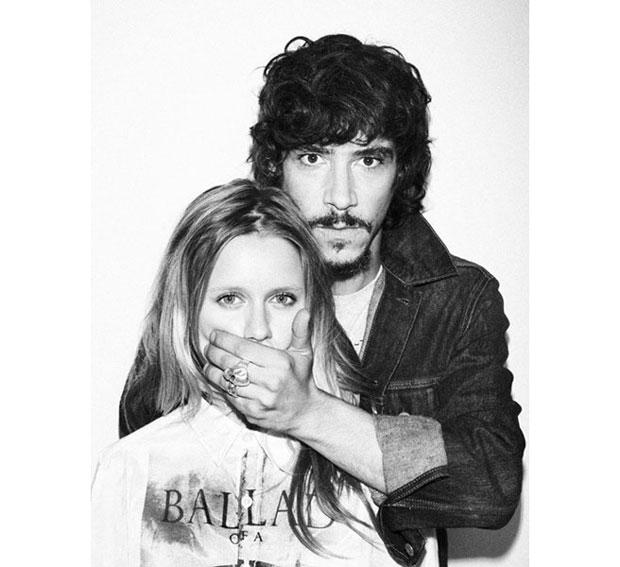 Retrato de Óscar Jaenada y ManuelaVelles