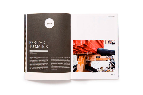 Diseño editorial para Bike Tech