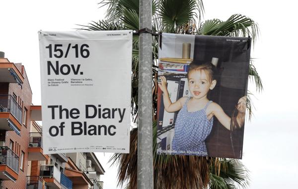 Diseño para el Blanc festival
