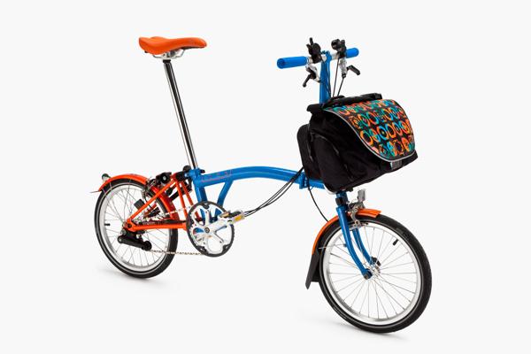 Diseño de bicicleta Brompton