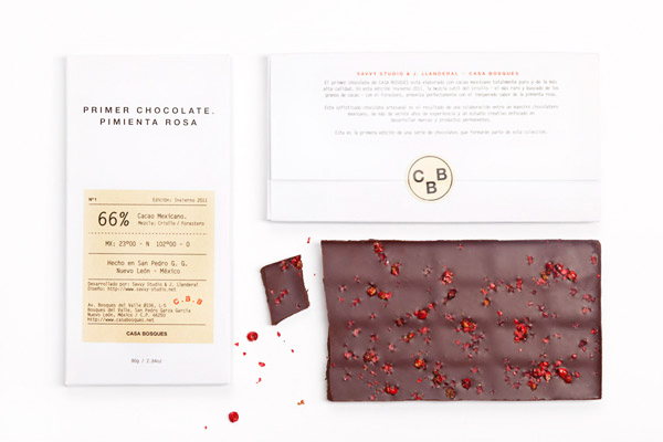 Diseño packaging CIOCCOLATO