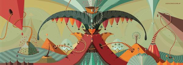 Ilustración digital por Tooco