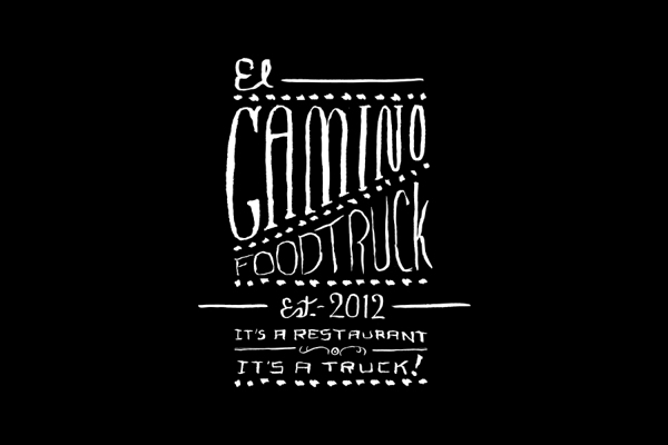 Diseño de identidad para EL CAMINO FOODTRUCK