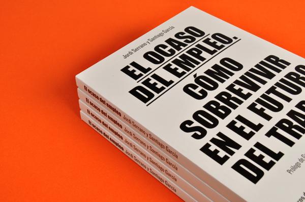 Diseño editorial para El Ocaso del Empleo