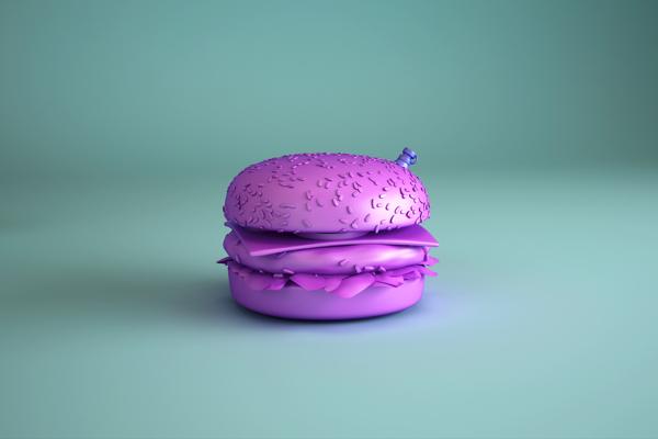 Imagen 3D para FA$T PLASTIC FOOD
