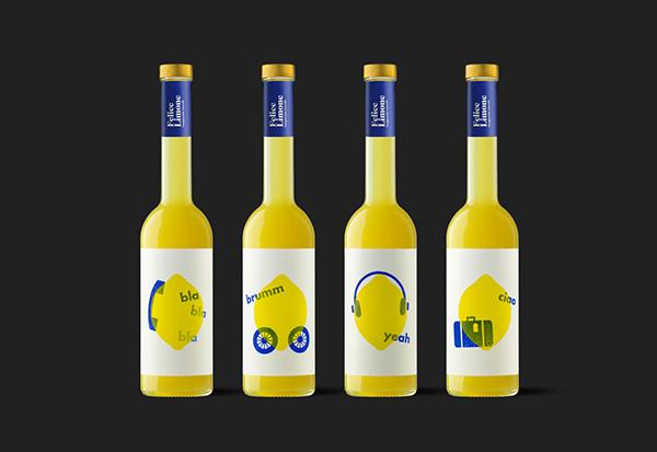 Diseño de packaging para Felice Limone