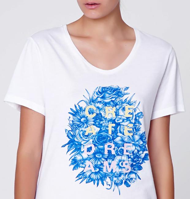 Ilustraciones para colección de camisetas y complementos de Oysho