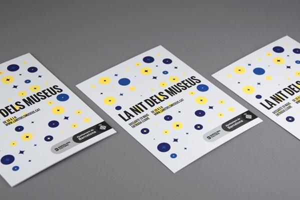 Carteles para La Nit dels Museus 2012