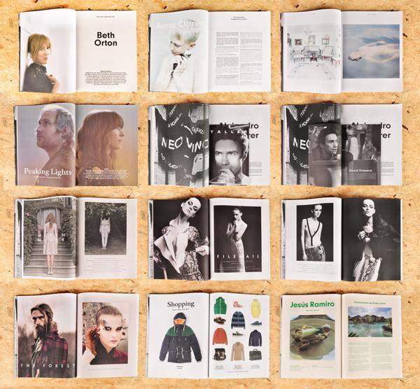 Diseño editorial para Lados Magazine