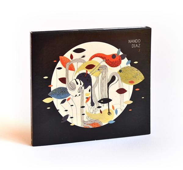 Diseño de disco para Nando Díaz