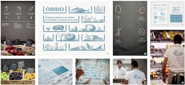 Diseño de identidad y packaging para Obbio