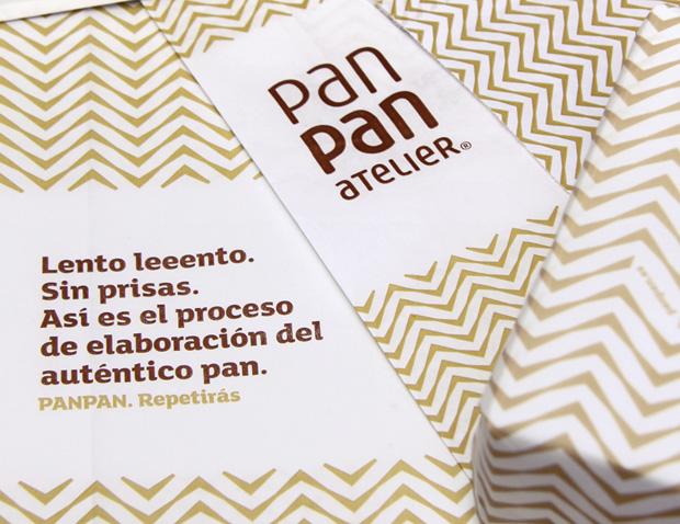 Diseño de identidad corporativa para Pan Pan