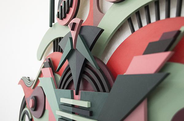Detalle de la pieza en 3D para Pictoplasma Art Residency