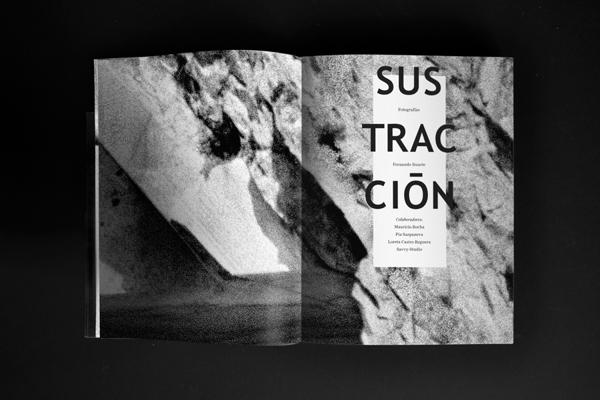 Diseño editorial para Sustracción