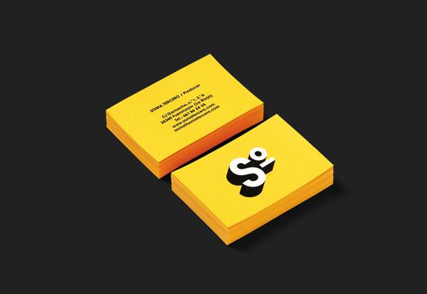 Diseño de identidad corporativa para  Sonia Tercero