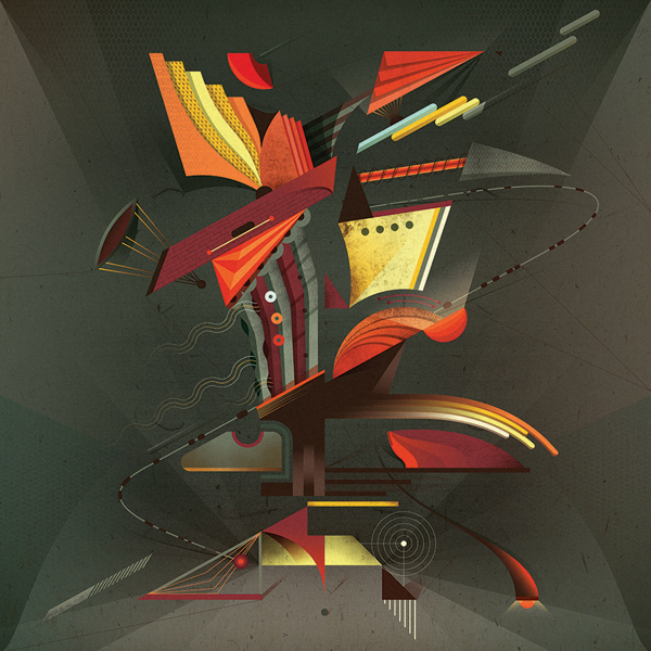 Ilustración titulada Tecnopolis 2012