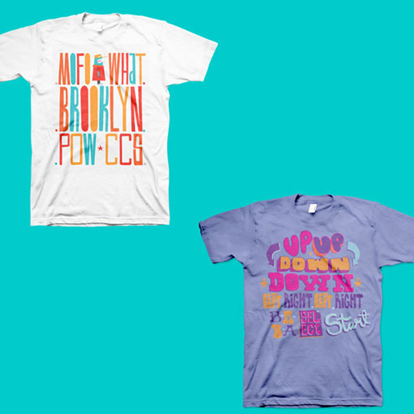 Diseño de camisetas de Yker Moreno