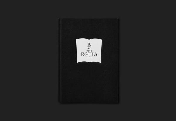 Diseño de guía para Viña Eguía Brochure