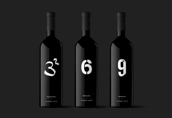 Diseño de etiqueta para Winery Arts