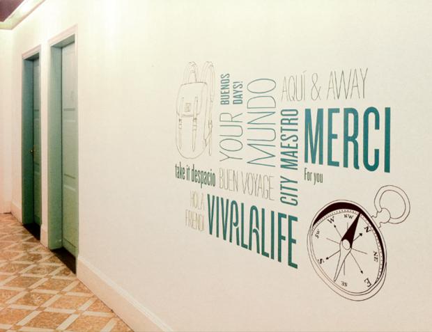 Diseño global para Casa Gracia