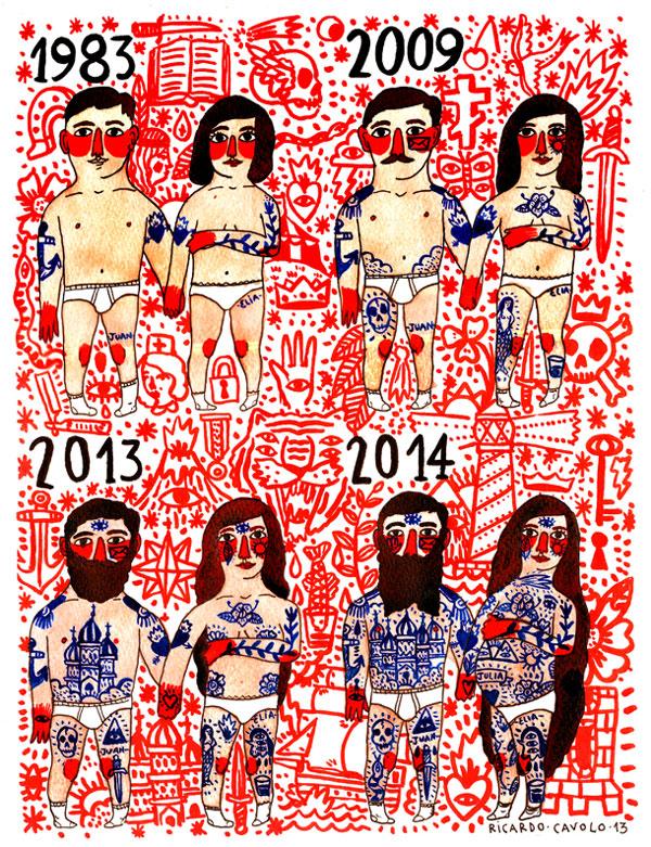Ilustración Ricardo Cavolo
