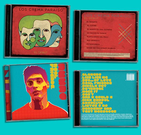 Diseño de portadas de disco