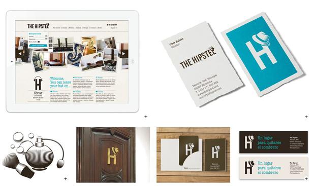 Diseño de identidad para The Hipstel