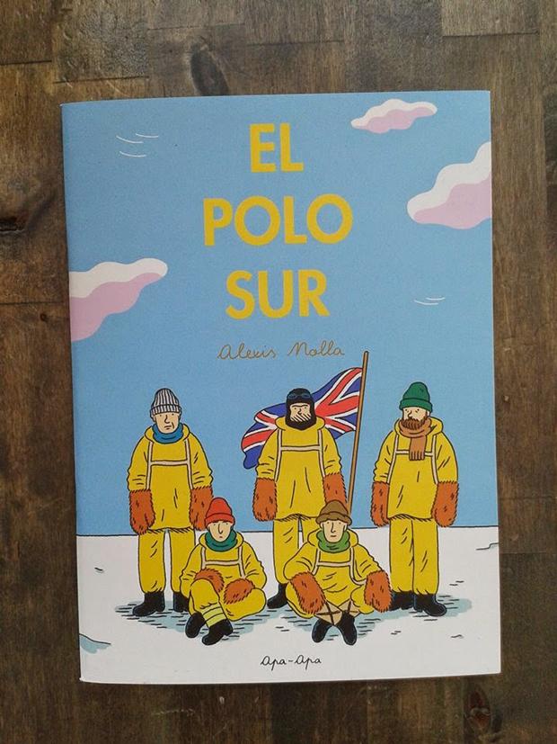 Alexis Nolla, portada del cómic El Polo Sur