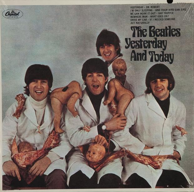 Yesterday and Today. La portada más polémica y sanguinolenta de The Beatles