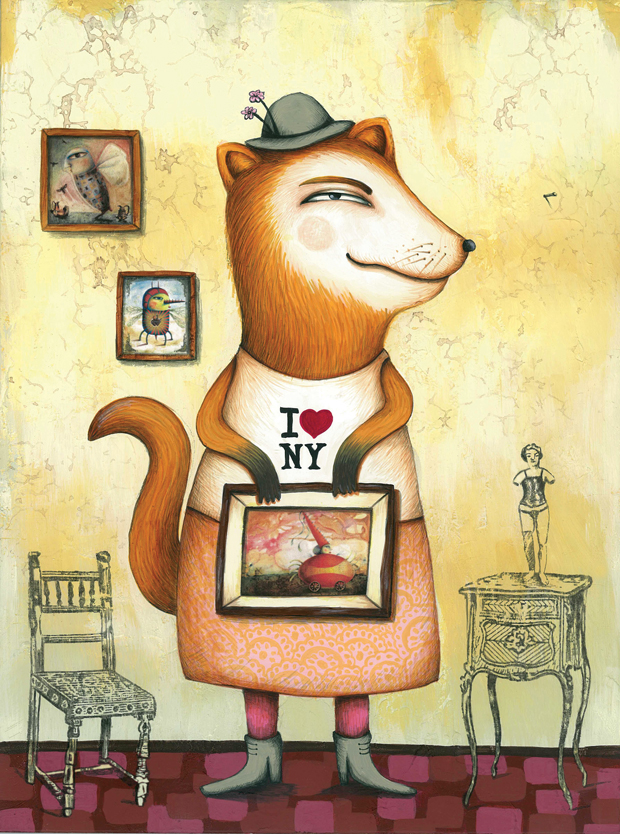 Carla Torres – ilustración Larry & Friends
