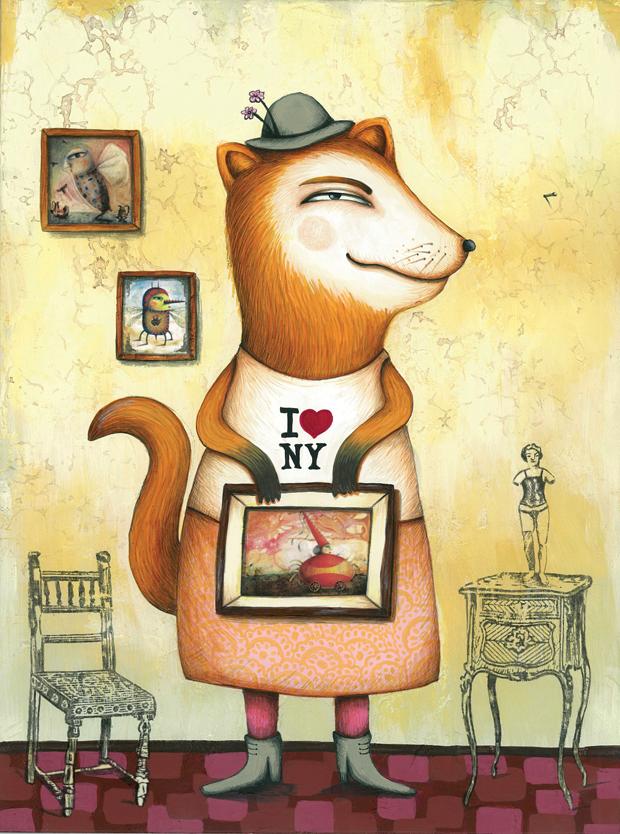 Carla Torres – ilustración Larry & Friends