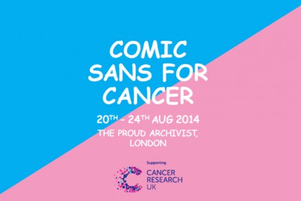 Comic Sans contra el cáncer