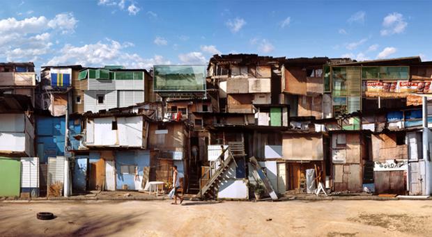 Dionisio González reflexiona sobre los modos de habitar la ciudad contemporánea